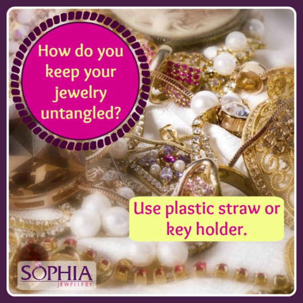 How Do You Keep Your Jewelry Untangled?