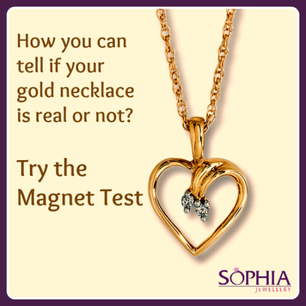 how to tell if jewelry is real gold how you can tell if your gold necklace is real or not 9662