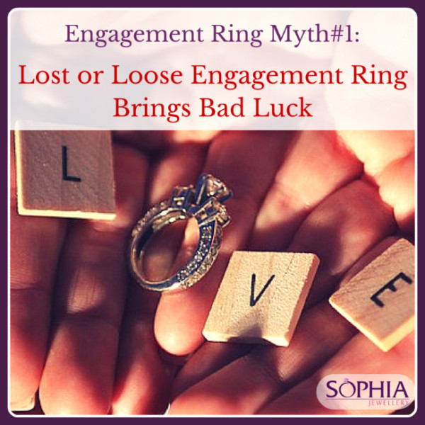 Engagement Ring Myth 1 Lost Or Loose Engagement Ring