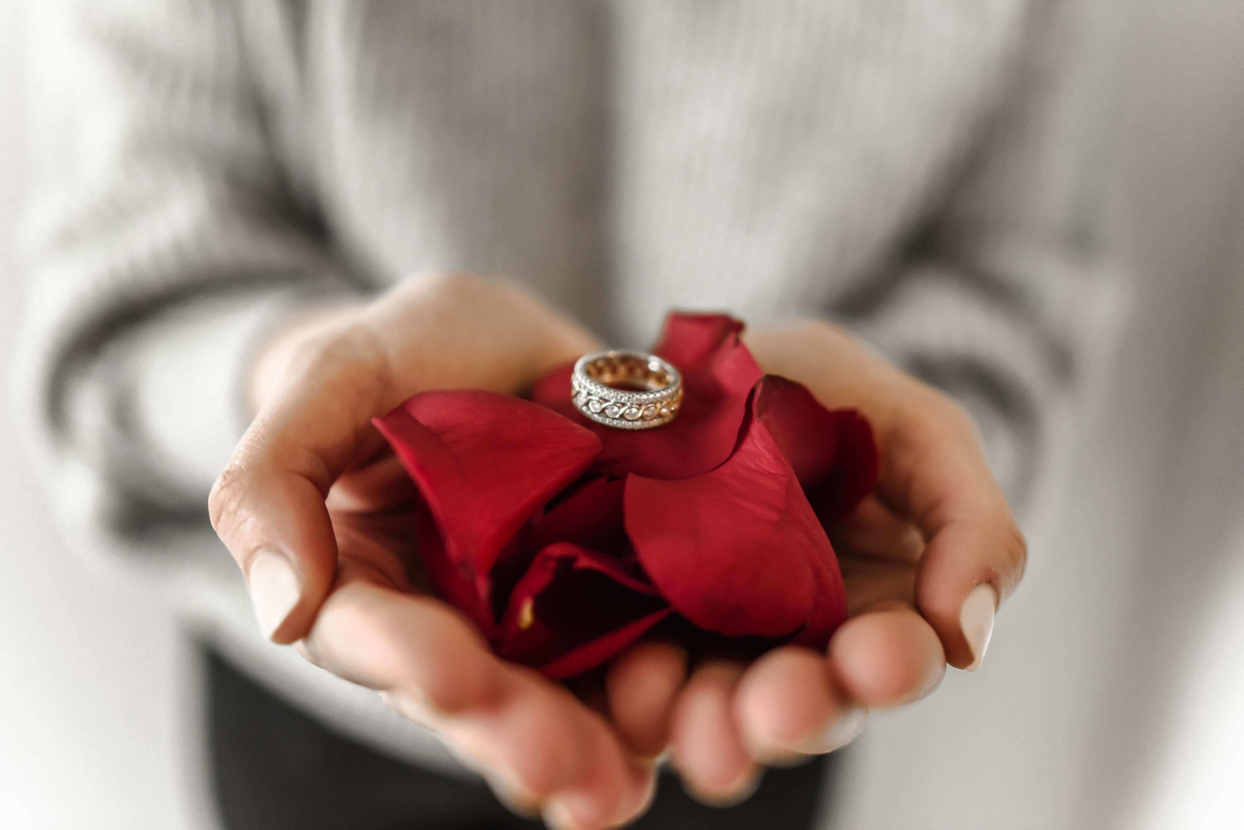 Someone you when do a ring give promise Should a